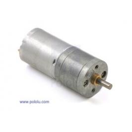 Motoriduttore in metallo 6 Vdc - 130 rpm