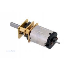 Micro Motoriduttore in metallo con alberino esteso - 120 RPM