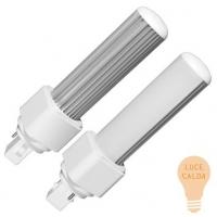 LED PL G24 7W 2700K - Luce calda