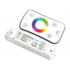 Dimmer 1 CH per strip LED RGB con telecomando RF