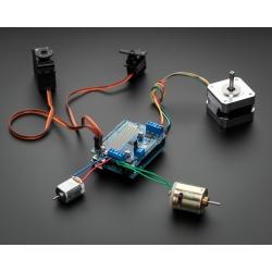 Adafruit Motor/Stepper/Servo Shield for Arduino v2 Kit - v2.0