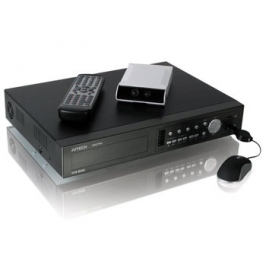 Set DVR 4 canali con telecamera Push Video e mouse