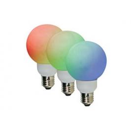 LAMPADA A LED RGB CON ATTACCO E27 -