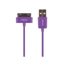 Cavo USB per iPad, iPod e iPhone - viola