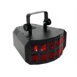 PROIETTORE LED RGB DOPPIO DERBY - DMX