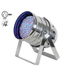 PROIETTORE PAR56 CROMATO A 108 LED RGB CON DMX
