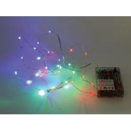 Ghirlanda luminosa con 30 LED RGB