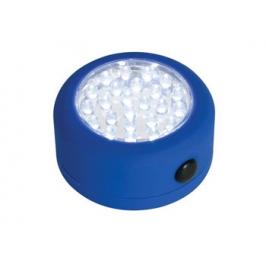 LAMPADA CIRCOLARE 24 LED CON BASE MAGNETICA