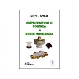 """Libro """"AMPLIFICATORI DI POTENZA A RADIO FREQUENZA"""" con"""