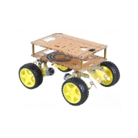 Piattaforma robotica 4WD con sospensioni