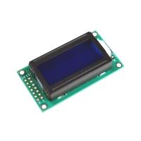 Display LCD 8X2 con retroilluminazione blu
