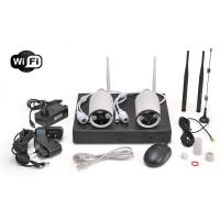 Sistema videosorveglianza NVR 4 canali con 2 telecamere
