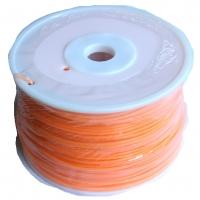 PLA - Orange - spool of 2.3Kg - 3mm