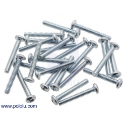 Machine Screw: #4-40, 3/4″ Length, Phillips (25-pack)