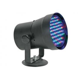 PROIETTORE NERO A 61 LED RGB CON INTERFACCIA DMX