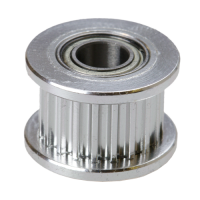 GT2  pulley (driven) with bearing (20 teeth / 6 mm belt / 3 mm I