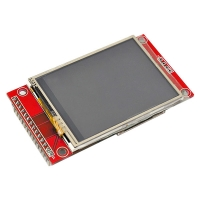 """DISPLAY LCD TOUCH 2,4"""" SERIALE"""