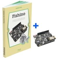 """Libro """"FISHBOOK"""" + board Fishino Uno"""