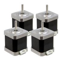 NEMA17 Stepper motor / 1.8° step / connector / flat shaft / 5.0
