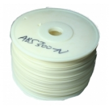 ABS - WHITE - Spool 1Kg - 3mm