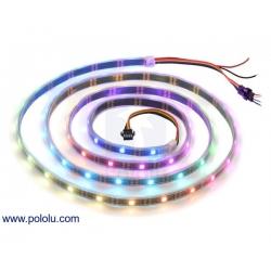 Addressable RGB 60-LED Strip, 5V, 2m (SK9822)