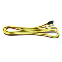 3-wire cable, Red Black Yellow (1m)