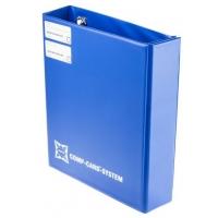 Rilegatore ad anelli Blu Nova 4 per misura carta A4