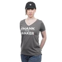 Thank the Maker Women s Tee - XL
