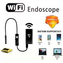 Telecamera Endoscopica Wi-Fi per Smartphone e PC