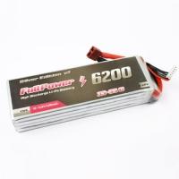FullPower - Batteria Lipo 6S 6200mAh 35C Silver V2 - Deans