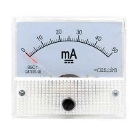 Amperometro analogico da pannello - 50 mA