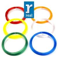 3D pen filament Translucent color PETG package ( 6 pcs / 10 m /