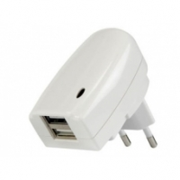 Alimentatore Switching con doppia uscita USB - 5 Vdc / 2 A