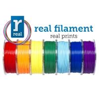 PLA - Starters kit Real ( 2.85mm / 1 kg / 8 colors )