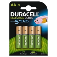 Duracell Recharge Ultra, AA, 1.5V, 2500mAh (4pz)