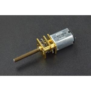Micro Metal DC Geared Motor with Lead Screw (6V 98RPM M3*20) (Pr
