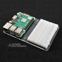 Supporto con breadboard per Raspberry Pi