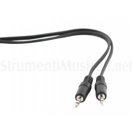 Cavo Audio Stereo 5 mt Jack 3.5mm M - Jack 3.5mm M