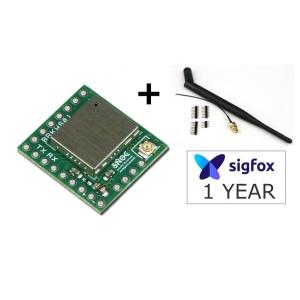 SigFox Breakout board based on Wisol SFM10R1 module eneables eas