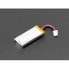 Lithium Ion Polymer Battery Ideal For Feathers - 3.7V 400mAh