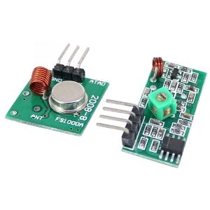 Set modulo RF TX+RX a 433 MHz