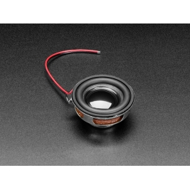 Speaker - 40mm Diameter - 4 Ohm 3 Watt
