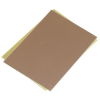 FR4 Epoxy PCB Board with single sided copper ( 10x20cm, 35µm )