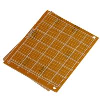 FR4 Epoxy PCB Board with single sided islands ( 10x22cm )