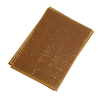 FR4 Epoxy PCB Board with single sided lanes ( 2.4x6.4cm )