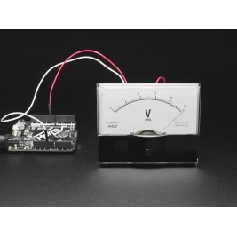 Large 5V Analog Panel Meter