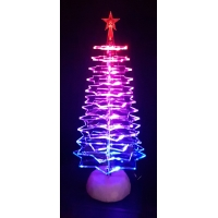 Parti in Plexiglass e base per Albero di Natale