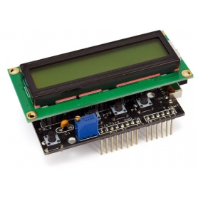SHIELD LCD PER ARDUINO CON DISPLAY - IN KIT
