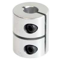 Rigid one-piece motor coupling  5 mm / 5 mm
