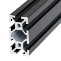 Aluminum extrusion 20x40mm ( 100 cm ) - Black